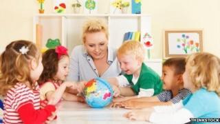 nursery teacher