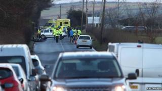 Ballycarry crash