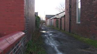 Hilton Street near to Cleggs Lane in Little Hulton