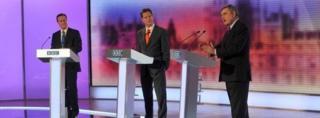 Leaders' general election TV debate in 2010