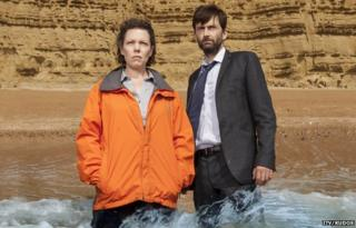 Olivia Coleman and David Tennant in Broadchurch