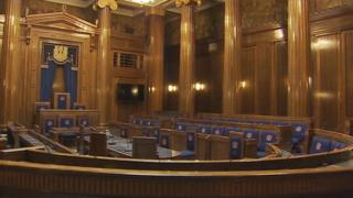 Swansea council chamber
