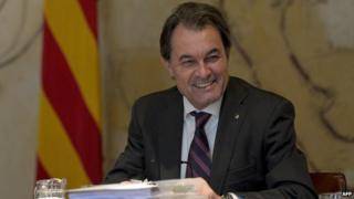 Catalan President Artur Mas
