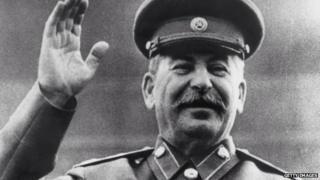 Former Soviet dictator Joseph Stalin