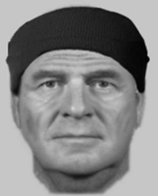 Efit image of rape suspect