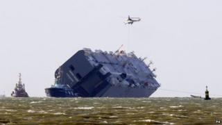 Hoegh Osaka on 14 January