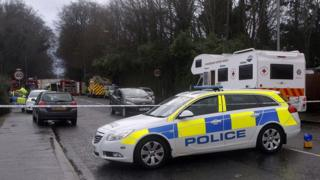 A man died after a tree fell on his vehicle in Lisburn
