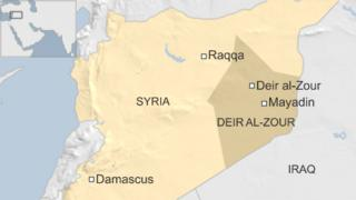 Map of Syria