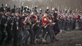 Battle of New Orleans re-enactment
