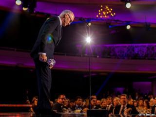 Michael Keaton at the Critics' Choice Awards