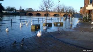 Floods in Worcester