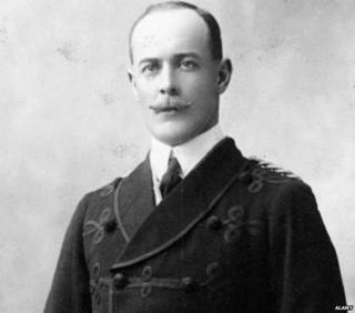 Captain William Henry Irvine Shakespear