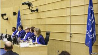 Judges at the ICC (Dec 2014)