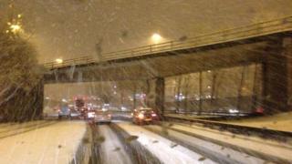 Snow on M8