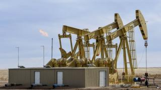 US oil well