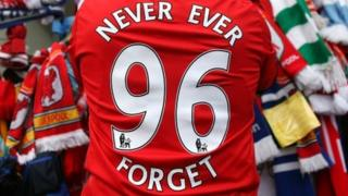 Hillsborough 96 memorial