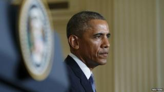 President Obama pictured in 2015