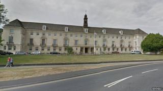 Wiltshire Council building, Trowbridge