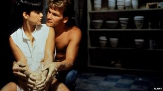Demi Moore and Patrick Swayze in Ghost