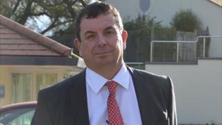 Richard Evans, Guernsey health department's deputy chief officer