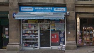 Wendy's News in Broad Street, Oxford