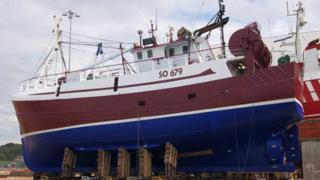 Irish vessel Iuda Naofa