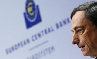 Mario Draghi (file pic Dec 2014)