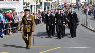 Guernsey's Liberation Day parade 2014