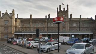 Shrewsbury railway station