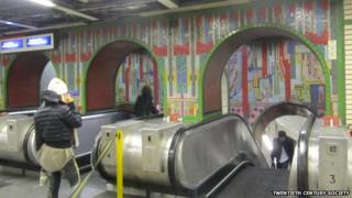 Mosaics on the Underground