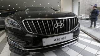 Hyundai Aslan model