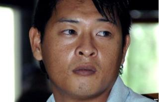 In a file photo taken on October 8, 2010, Australian Andrew Chan, a member of the so called Bali Nine gang, attends his trial in Denpasar on the island of Bali.