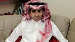 Blogger Raif Badawi. Image given to media by family. Date unknown.
