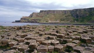 The Giant's Causeway is one of Northern Ireland's most popular tourist attractions