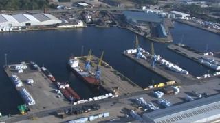 Alexandra Dock, Hull