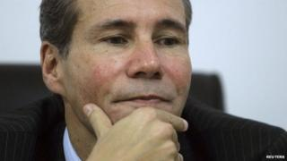 File photo of Alberto Nisman from 29 May, 2013.