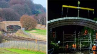 Engineers at Queen's have developed the world's longest flat pack arch bridge