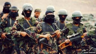 Members of Yemen's counter-terrorism forces - date unknown