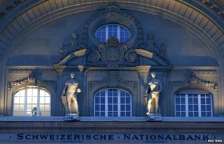 The Swiss National Bank (SNB) building in Bern (21 Jan)