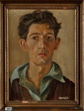 Norman Cornish painting