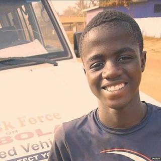 Ebola survivor from Liberia