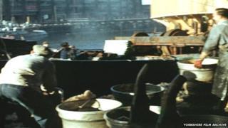 Hull on the docks 1957