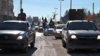 Islamic State in Tal Abyad, Syria, Dec 2014