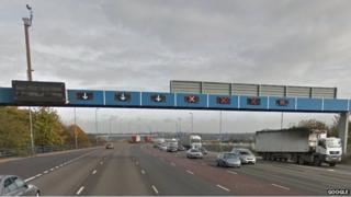 Shot of the Aston Expressway