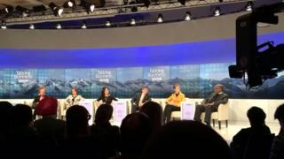 Talking Business debate at Davos