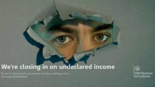 HMRC poster on tax avoidance