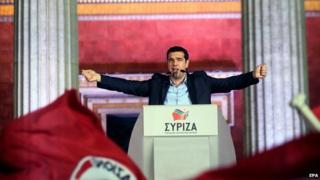 Alexis Tsipras, Syriza leader