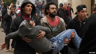 Egypt: At least 10 killed in protests marking uprising
