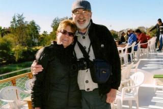 Sandra Bainbridge and Derek Joyner