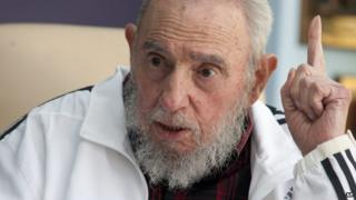 Fidel Castro. Photo: 11 July 2014